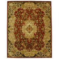 Safavieh Classic Collsction Red Floral Rug