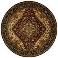 Safavieh Clasisc Collection Hand-tufted Round Rug