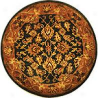 Safavieh Classic Collection Blue Round Wool Rug