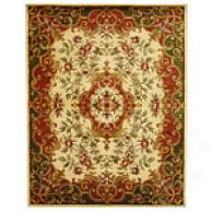 Safavieh Classic Collection Ivory Floral Rug