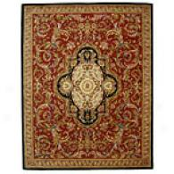 Safavieh Classic Assemblage Red Hand Tuft3d Rug