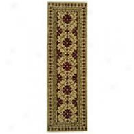 Safavieh Classic Tufted Ivory & Red Wool Runner