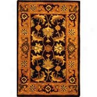 Safavieh Heritagw 8x10 Brown Agra Wool Rug