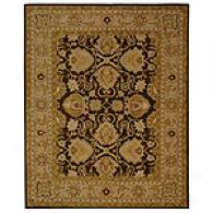 Safavieh Heritage Brown & Ivory Wool Rug