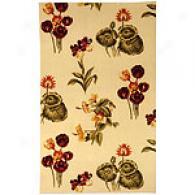 Safavieh Mandaron Ivory Garden Tufted Wool Rug
