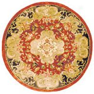 Safavieh Oval Classic Collectiion Red Floral Rug