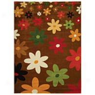 Safavieh PorcelloB right Floral Polypropylene Rug