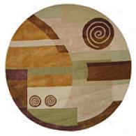 Safavieh Roxeo Drive Tonal Round Wool Rug