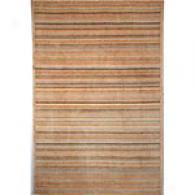 Safavieh Tinetan 100 Tonal Stripe Beige Wool Rug