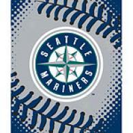 Seattle Mariners 60in X 80in Baseball Throw