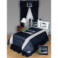 Seattle Seahawks Comforter & Sheet Set