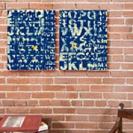 See Why Blue Set Of 2 16in X 20in Canvas Prints