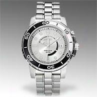 Seiko Kinetic Stainless Steel Mens Watch