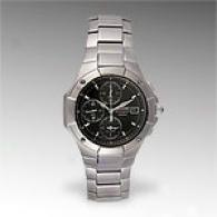 Seiko Men's Stainless Steel Chronograph Sna34l
