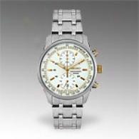 Seiko Mens Two Tone Chronograph Watch