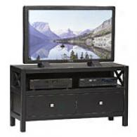 Siena C0llection Antique Black Media Center