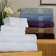 Silhouette 8pc Egyptian Cotton 660 Gram Towel Set