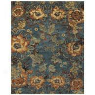 Silver Sage Floral Hand Tufted Wool Rug
