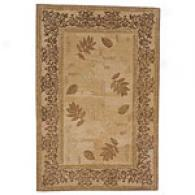 Sparta Beige & Brown Twigs Hand Made Wool Rug