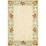 Spencer Sand Floral Wool Rug