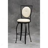 Square & Oval Back Barstool