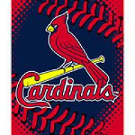 St. Louis Cardinals 60in X 80in Baseball Thfow