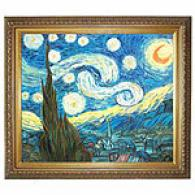 Starry Night By Van Gogh Framed Oil Painting