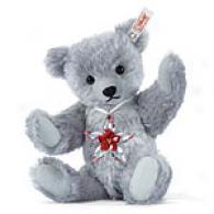 Steiff Christmas Poinsettia Swarovski Bear