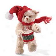 Steiff Christmas Tedcy Drummer Bear