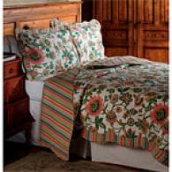 Stockbridgr Floral Cotton Quilt Set