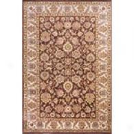 Sultan Collection Brown Wool Rug