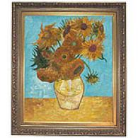 Sunflowers Framed Oil Painting