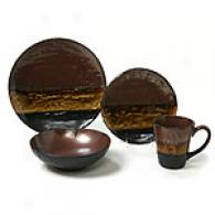 Sunset Collection Open Stlck Dinnerware- Sets Of 6
