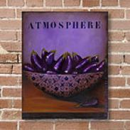 Sur La Table Eggplant Outdoor Canvas Print