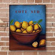 Sur La Table Lemon Outdoor Canvas Print