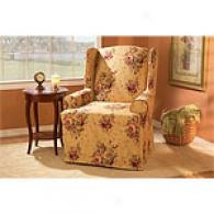 Sure Fit Harbor House Wing Chair Slipcover