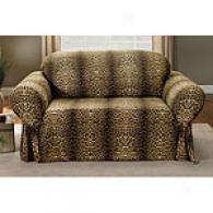 Sure Fit Leopard Mark Cotton Slipcover