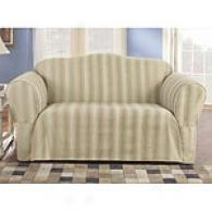 Sure Fiy Ombre Stripe Slipcover