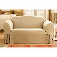 Sure Fit Organic Solid Slipcover