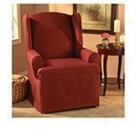 Sre Fit Sanger Wing Chair Slipcover