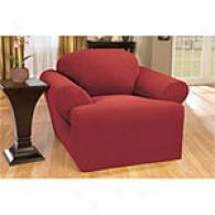 Sure Fit Stretch Honeycomb T-cushion Slipcover
