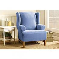 Sure Fit Stretch Pearson Winng Chair Slipcover