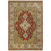 Sutya Adana Orange & Red Hand Knotted Wool Rug