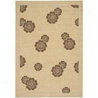 Surya Alfresco Floating Brown Indoor/outdoor Rug