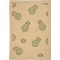 Surya Alfresco Sage Floral Indoor/outdoor Rug