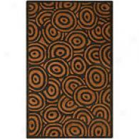 Surya Artist Studio Chwrcoal Swirl Wool Rug
