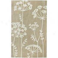 Surya Cosmopolitan Beige Floral Rug