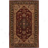 Surya Dream Burgundy Just discovered Zealand Wool Rug