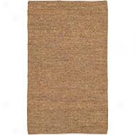 Surya Edge Camel 100% Leather Rug
