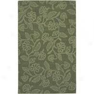 Surya Goa Mean Green Hand-tufted Wool Rug